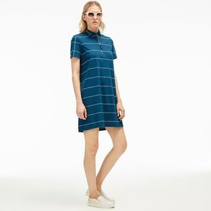 Lacoste colorblock polo dress size 40 (Medium)